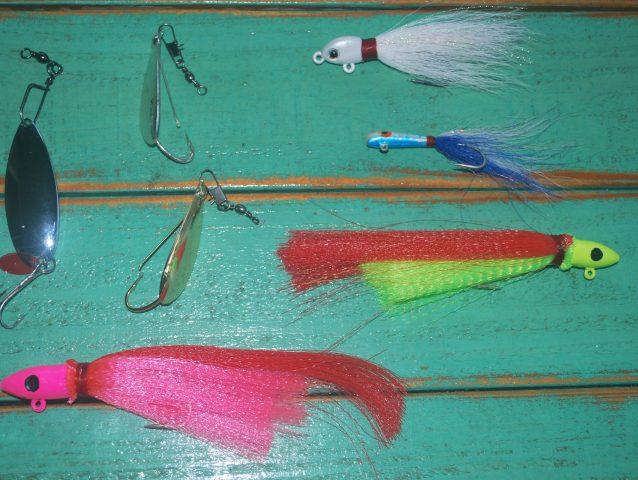 mackerel spoons jigs