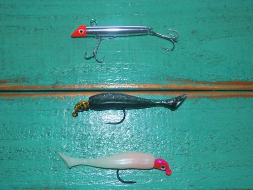mackerel gotcha lures paddle tail plastics